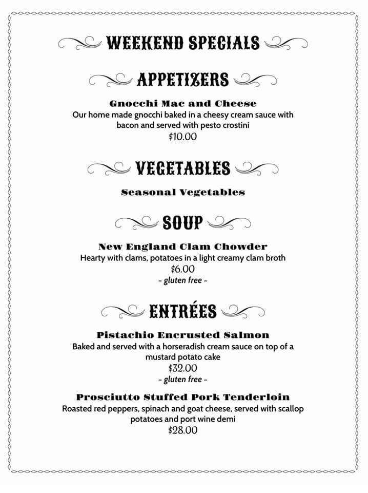 weekly specials for 1-15-21